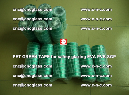 PET GREEN TAPE for safety glazing PVB SGP EVA (22)