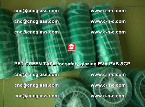 PET GREEN TAPE for safety glazing PVB SGP EVA (31)