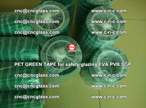 PET GREEN TAPE for safety glazing PVB SGP EVA (36)
