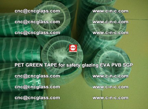 PET GREEN TAPE for safety glazing PVB SGP EVA (37)