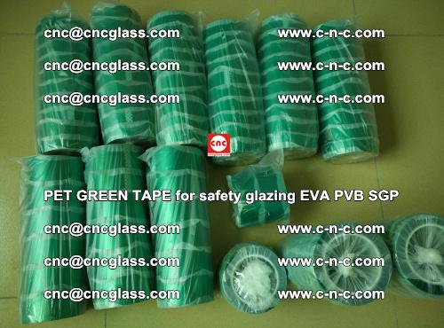 PET GREEN TAPE for safety glazing PVB SGP EVA (40)