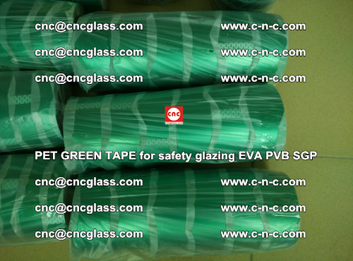 PET GREEN TAPE for safety glazing PVB SGP EVA (42)