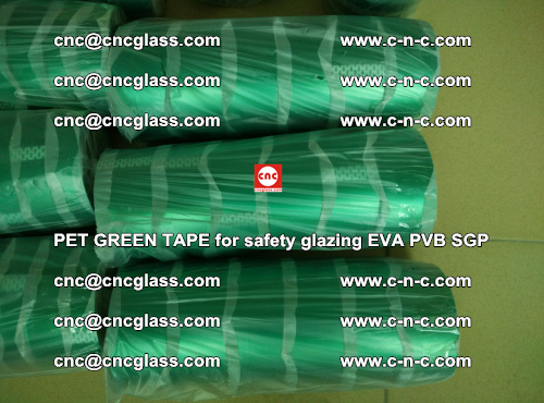 PET GREEN TAPE for safety glazing PVB SGP EVA (43)
