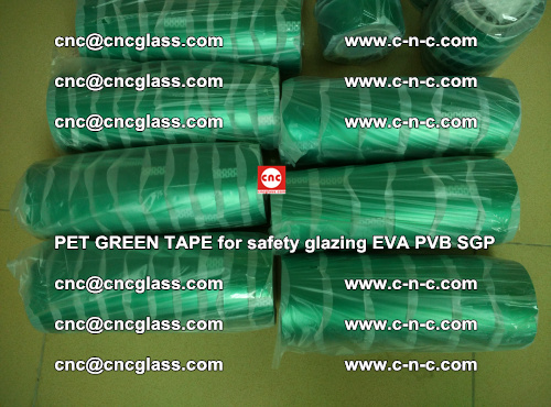 PET GREEN TAPE for safety glazing PVB SGP EVA (44)