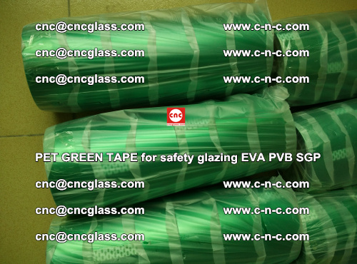 PET GREEN TAPE for safety glazing PVB SGP EVA (46)