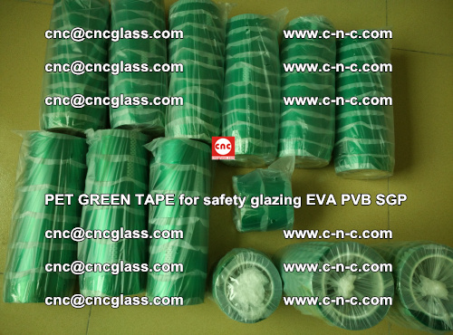 PET GREEN TAPE for safety glazing PVB SGP EVA (48)