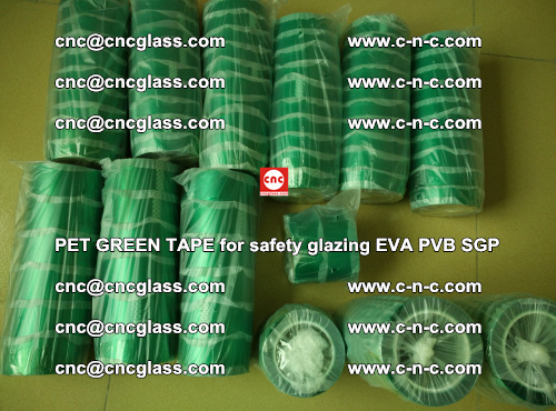 PET GREEN TAPE for safety glazing PVB SGP EVA (49)