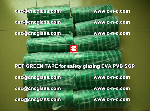 PET GREEN TAPE for safety glazing PVB SGP EVA (52)