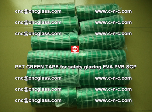 PET GREEN TAPE for safety glazing PVB SGP EVA (53)