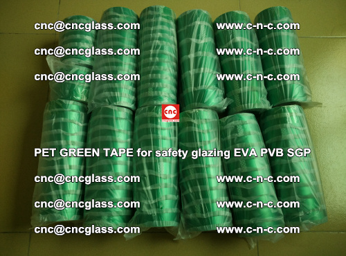 PET GREEN TAPE for safety glazing PVB SGP EVA (56)