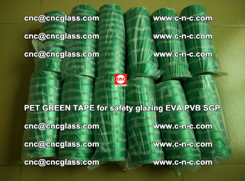 PET GREEN TAPE for safety glazing PVB SGP EVA (57)