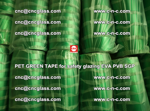 PET GREEN TAPE for safety glazing PVB SGP EVA (61)