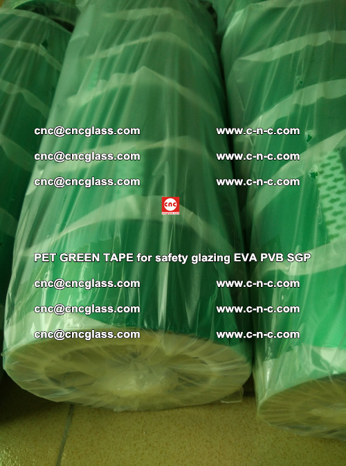PET GREEN TAPE for safety glazing PVB SGP EVA (73)