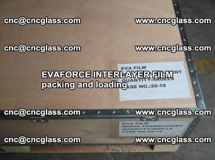 EVAFORCE INTERLAYER FILM for laminated glass safety glazing (10)
