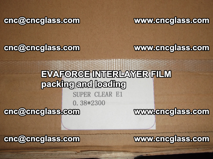 EVAFORCE INTERLAYER FILM for laminated glass safety glazing (19)