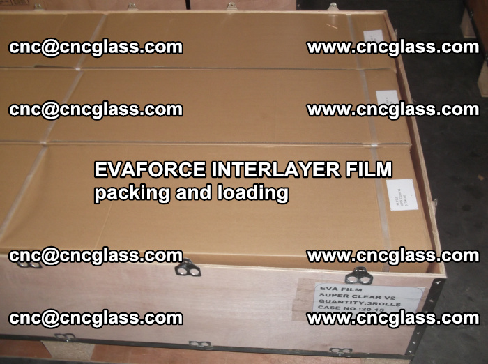 EVAFORCE INTERLAYER FILM for laminated glass safety glazing (30)
