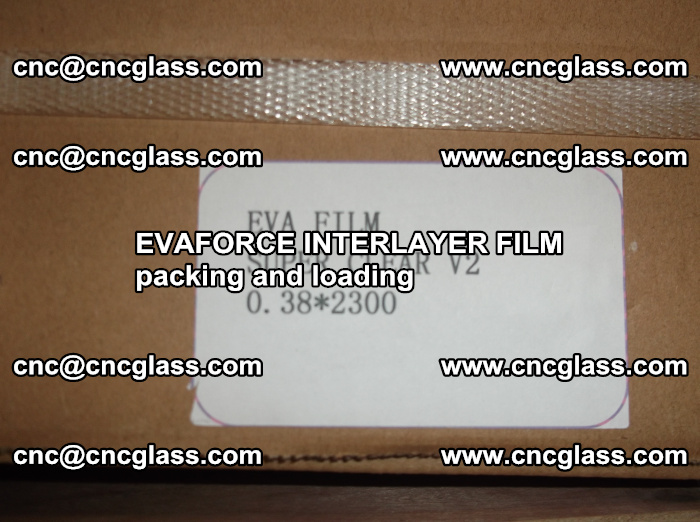 EVAFORCE INTERLAYER FILM for laminated glass safety glazing (31)