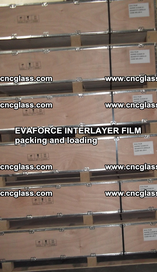 EVAFORCE INTERLAYER FILM for laminated glass safety glazing (38)