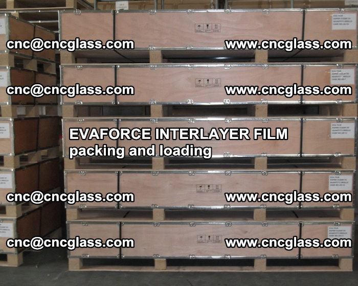 EVAFORCE INTERLAYER FILM for laminated glass safety glazing (40)