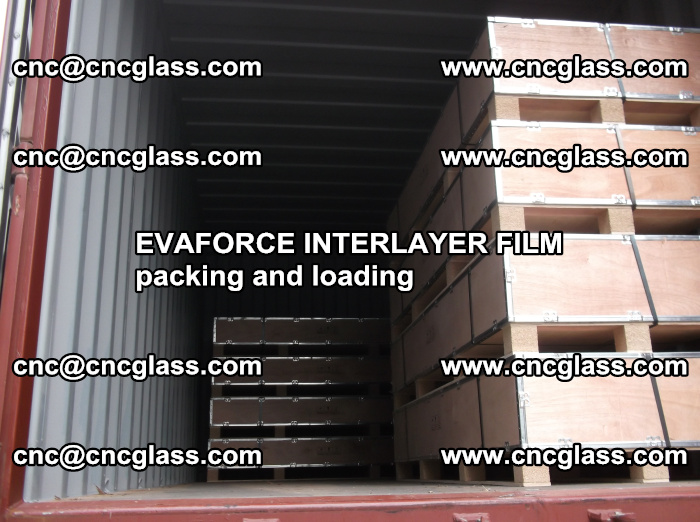 EVAFORCE INTERLAYER FILM for laminated glass safety glazing (48)