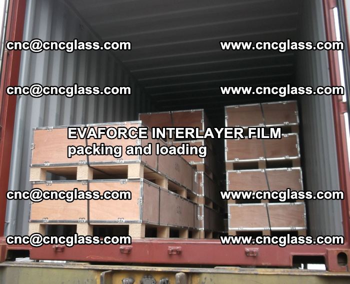 EVAFORCE INTERLAYER FILM for laminated glass safety glazing (54)