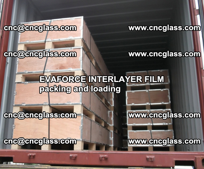 EVAFORCE INTERLAYER FILM for laminated glass safety glazing (56)