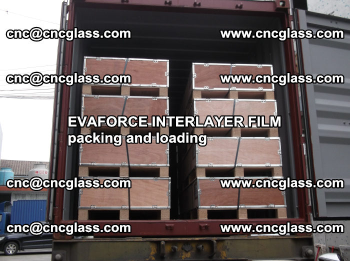EVAFORCE INTERLAYER FILM for laminated glass safety glazing (58)