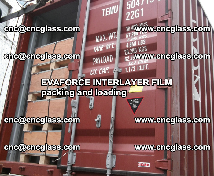 EVAFORCE INTERLAYER FILM for laminated glass safety glazing (61)