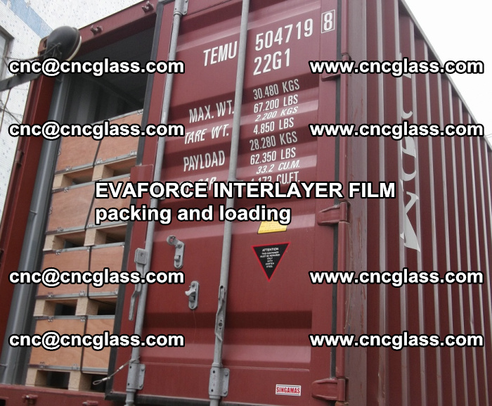 EVAFORCE INTERLAYER FILM for laminated glass safety glazing (62)