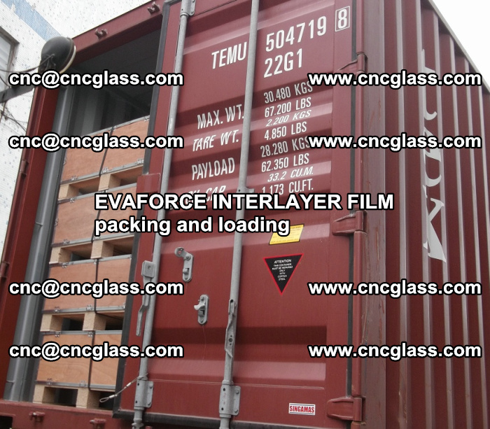 EVAFORCE INTERLAYER FILM for laminated glass safety glazing (63)