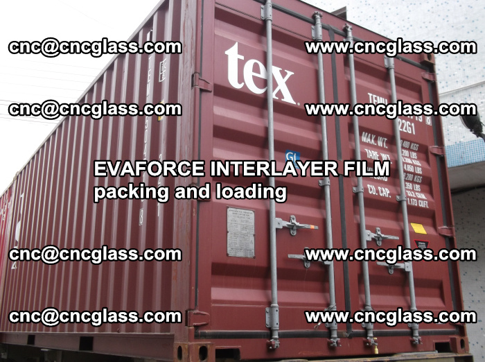 EVAFORCE INTERLAYER FILM for laminated glass safety glazing (68)