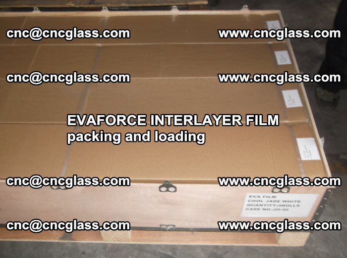 EVAFORCE INTERLAYER FILM for laminated glass safety glazing (8)