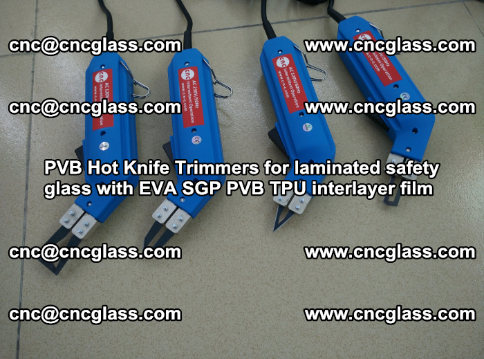 PVB Hot Knife Trimmers for laminated safety glass with EVA SGP PVB TPU interlayer film (1)