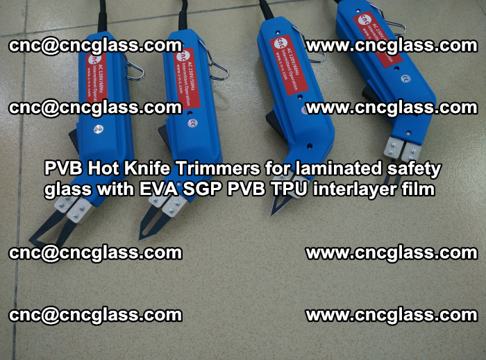PVB Hot Knife Trimmers for laminated safety glass with EVA SGP PVB TPU interlayer film (100)