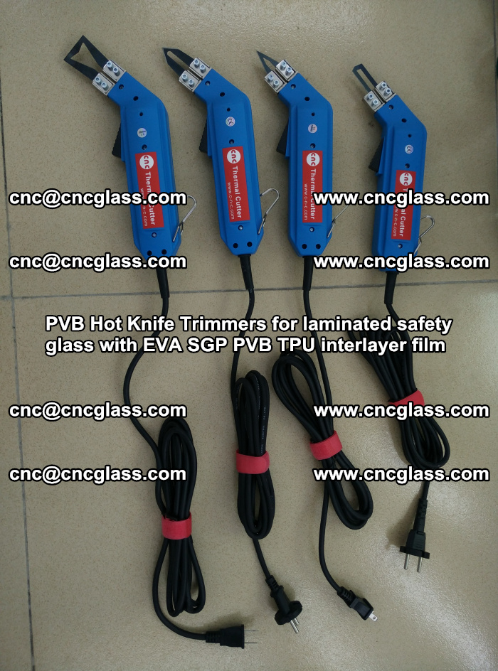 PVB Hot Knife Trimmers for laminated safety glass with EVA SGP PVB TPU interlayer film (14)