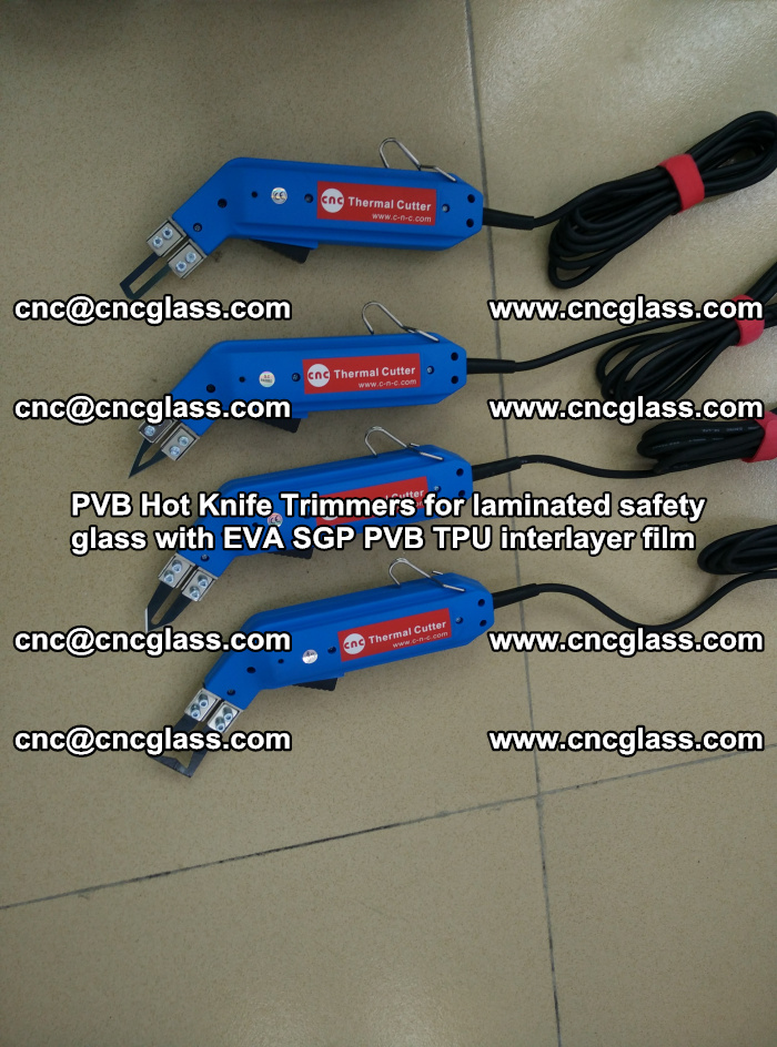 PVB Hot Knife Trimmers for laminated safety glass with EVA SGP PVB TPU interlayer film (15)