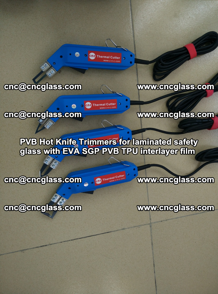 PVB Hot Knife Trimmers for laminated safety glass with EVA SGP PVB TPU interlayer film (16)
