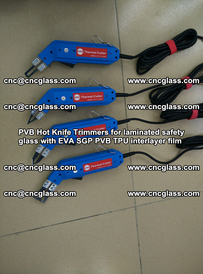 PVB Hot Knife Trimmers for laminated safety glass with EVA SGP PVB TPU interlayer film (17)