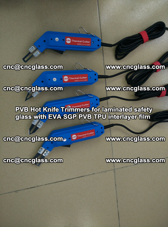 PVB Hot Knife Trimmers for laminated safety glass with EVA SGP PVB TPU interlayer film (18)