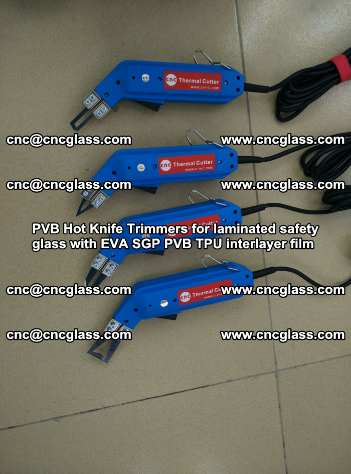 PVB Hot Knife Trimmers for laminated safety glass with EVA SGP PVB TPU interlayer film (19)