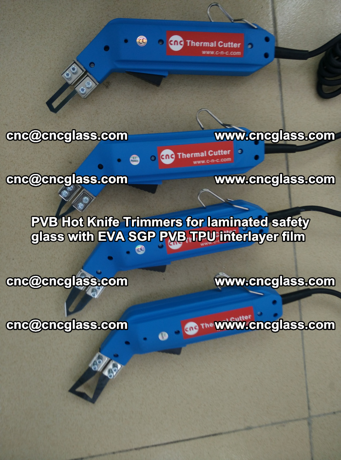 PVB Hot Knife Trimmers for laminated safety glass with EVA SGP PVB TPU interlayer film (23)