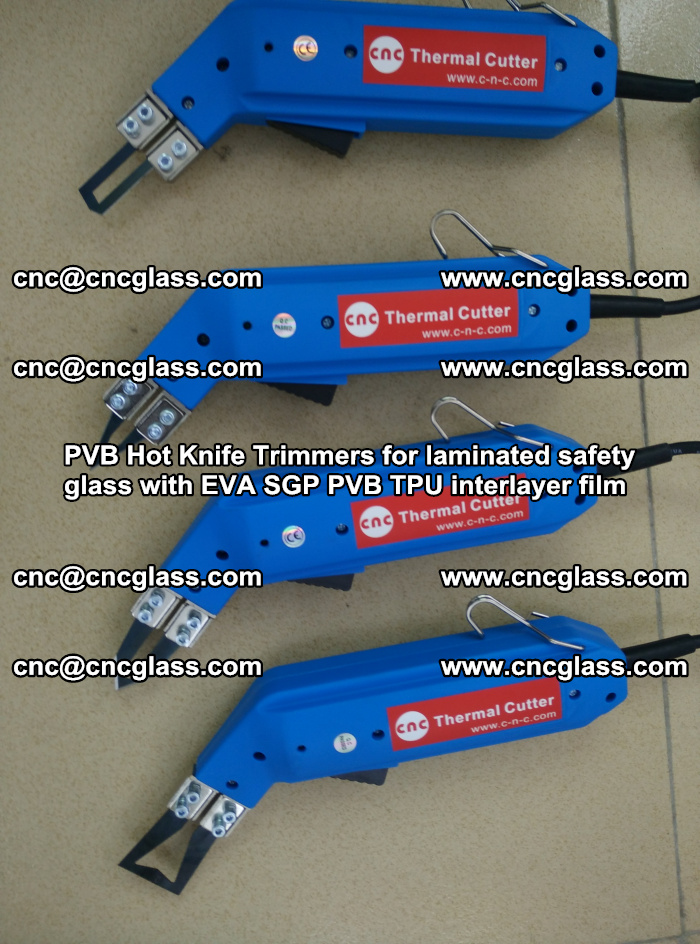 PVB Hot Knife Trimmers for laminated safety glass with EVA SGP PVB TPU interlayer film (24)