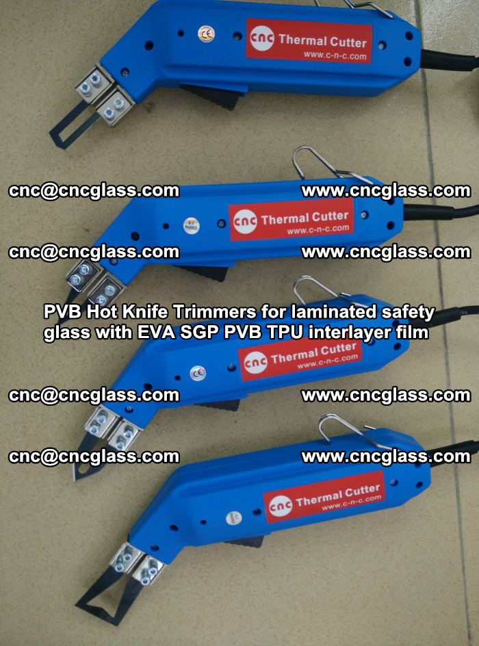 PVB Hot Knife Trimmers for laminated safety glass with EVA SGP PVB TPU interlayer film (25)