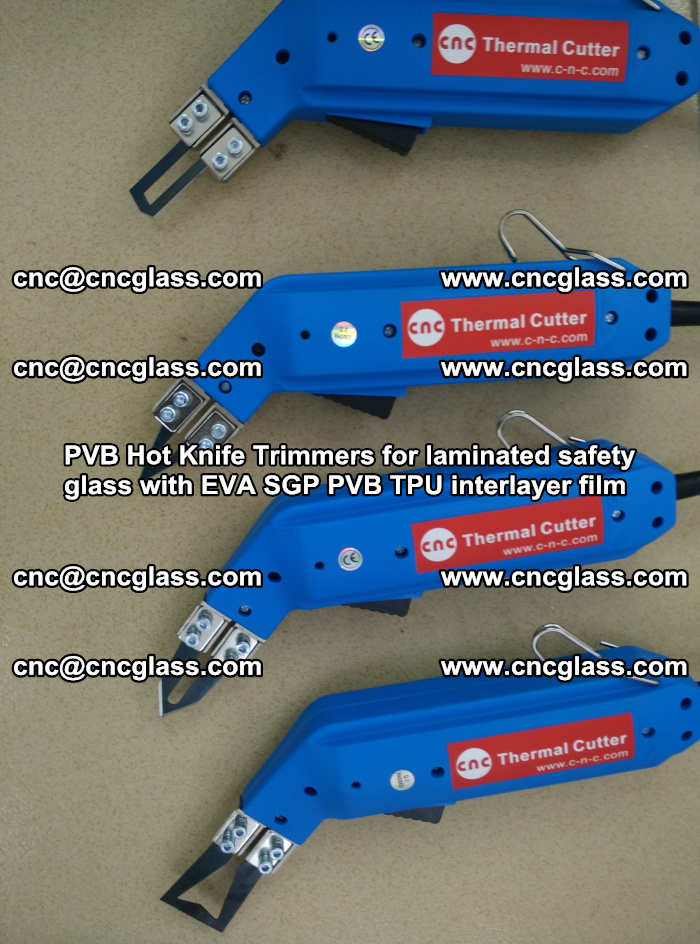 PVB Hot Knife Trimmers for laminated safety glass with EVA SGP PVB TPU interlayer film (26)