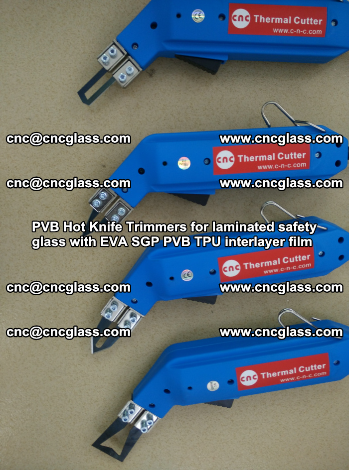 PVB Hot Knife Trimmers for laminated safety glass with EVA SGP PVB TPU interlayer film (27)