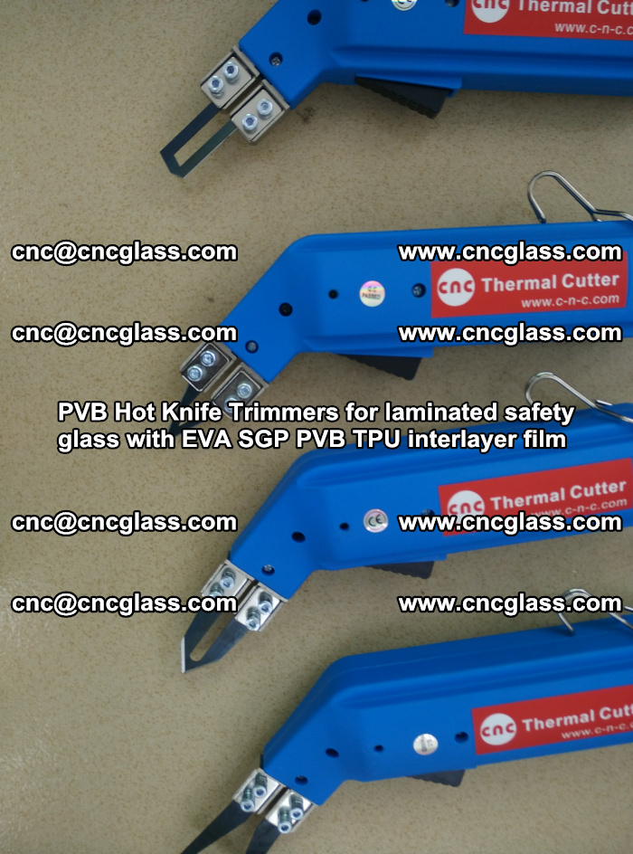 PVB Hot Knife Trimmers for laminated safety glass with EVA SGP PVB TPU interlayer film (28)
