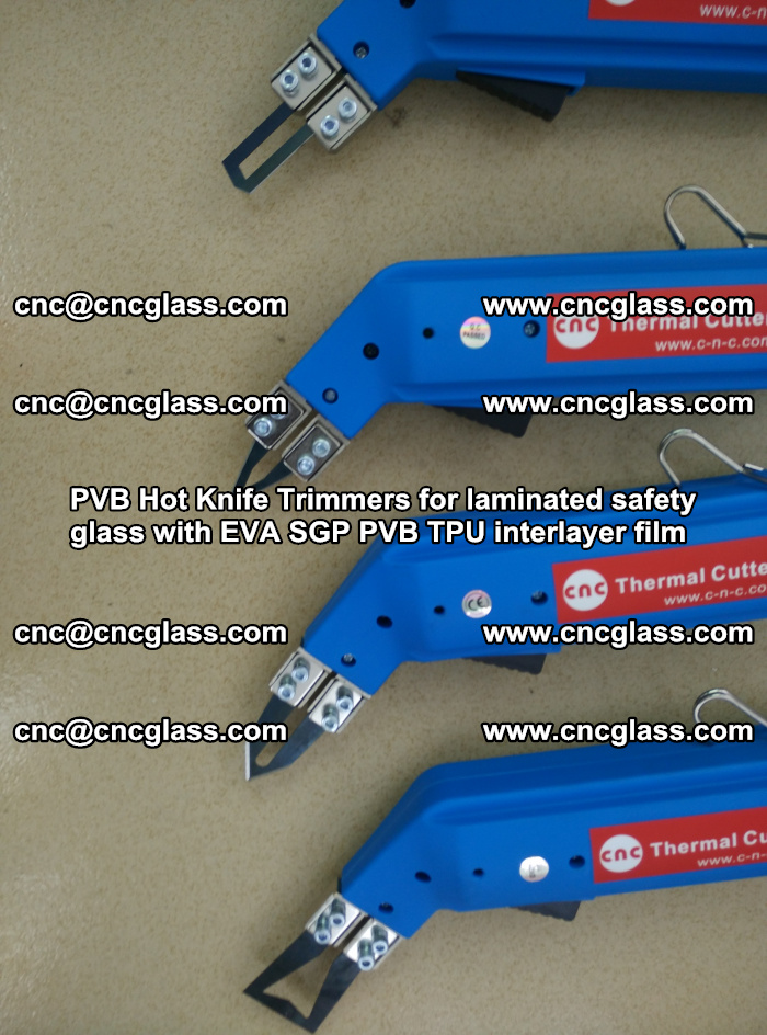 PVB Hot Knife Trimmers for laminated safety glass with EVA SGP PVB TPU interlayer film (29)