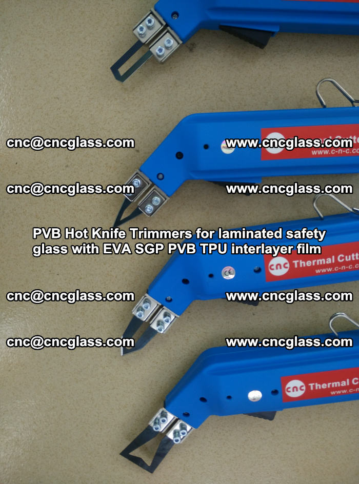 PVB Hot Knife Trimmers for laminated safety glass with EVA SGP PVB TPU interlayer film (30)