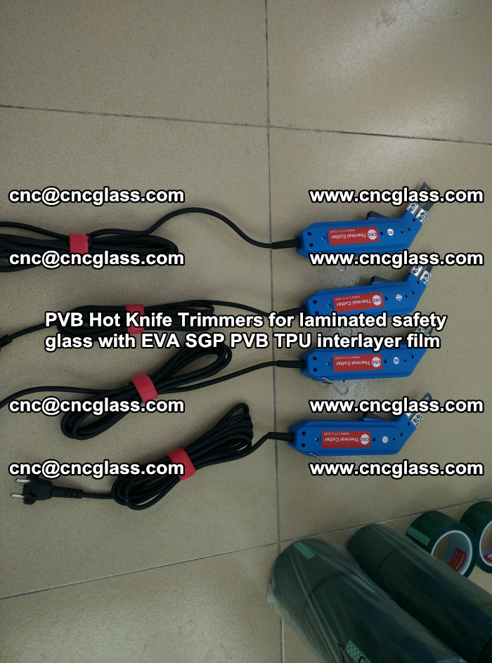 PVB Hot Knife Trimmers for laminated safety glass with EVA SGP PVB TPU interlayer film (36)
