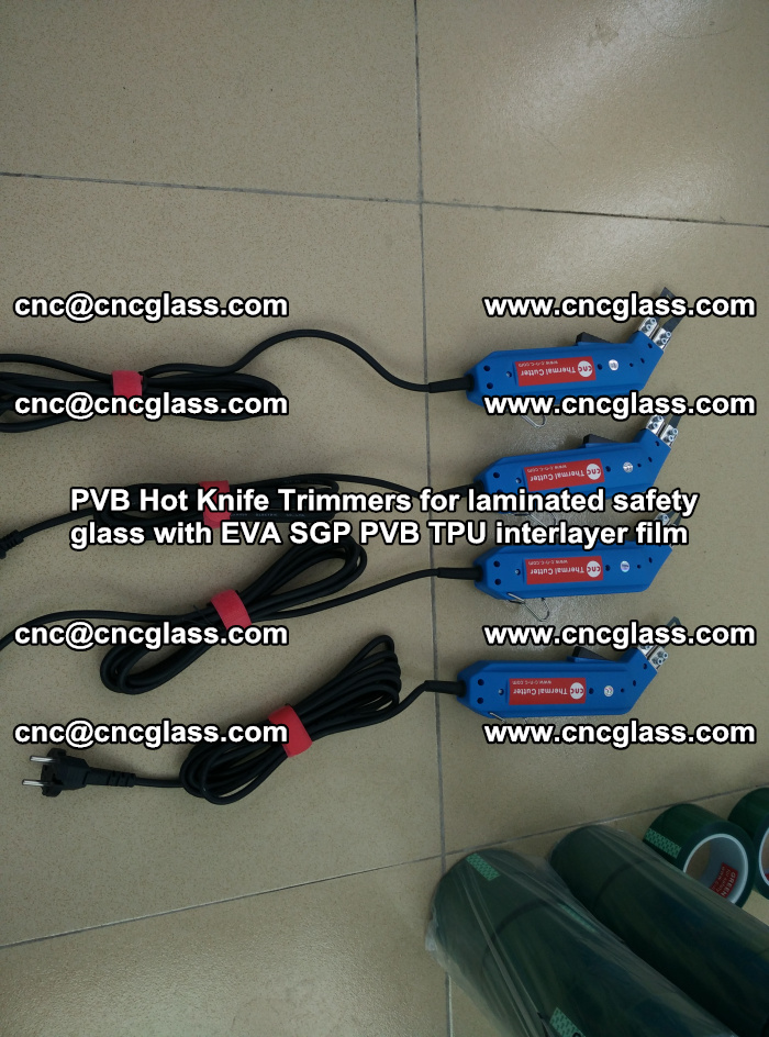 PVB Hot Knife Trimmers for laminated safety glass with EVA SGP PVB TPU interlayer film (37)